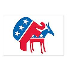 Anti-Democrat Postcards (Package of 8)