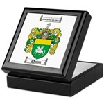 Quinn Family Crest Keepsake Box