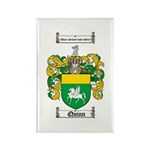 Quinn Family Crest Rectangle Magnet (10 pack)