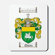 Quinn Family Crest Mousepad