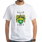 Quinn Family Crest White T-Shirt