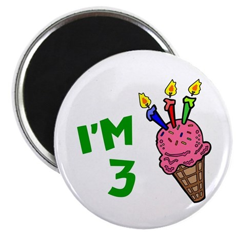 3rd Birthday (Ice Cream Cone 1) Magnet
