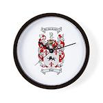 Pugh Coat of Arms Wall Clock