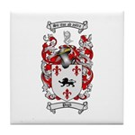 Pugh Coat of Arms Tile Coaster