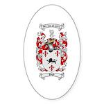 Pugh Coat of Arms Oval Sticker