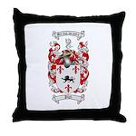 Pugh Coat of Arms Throw Pillow