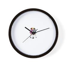 Cute Irish dancing Wall Clock