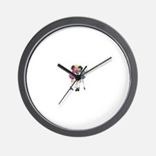Cute Irish dance Wall Clock