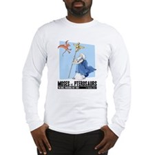 Moses vs. Pterosaurs Long Sleeve T-Shirt