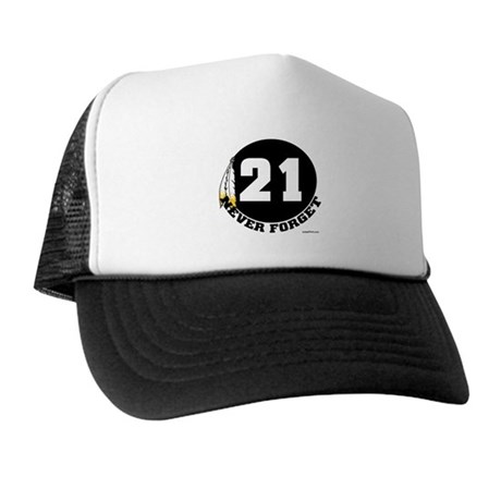 21 NEVER FORGET (FEATHER) Trucker Hat