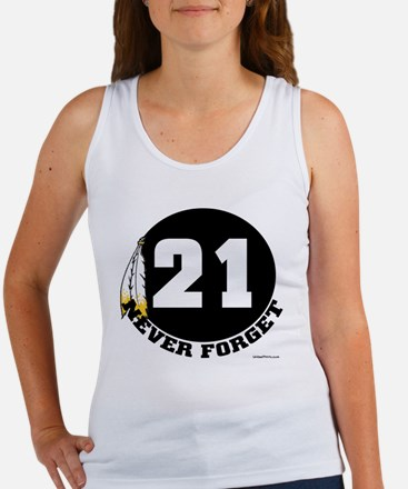 21 NEVER FORGET (FEATHER) Women's Tank Top