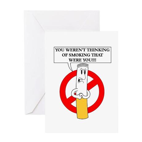 Don't smoke it Greeting Card