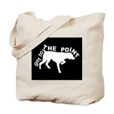 GET TO THE POINT - CANVAS BAG