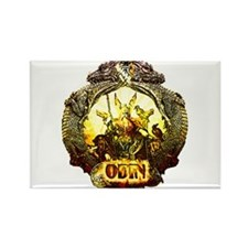 Odin Norse God Rectangle Magnet