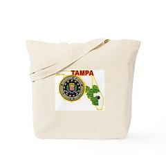Tampa FBI Tote Bag