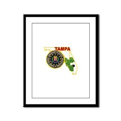 Tampa FBI Framed Panel Print