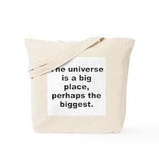Kilgore trout quote Tote Bag