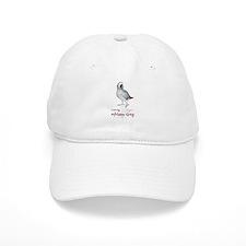 i love african greys Baseball Cap