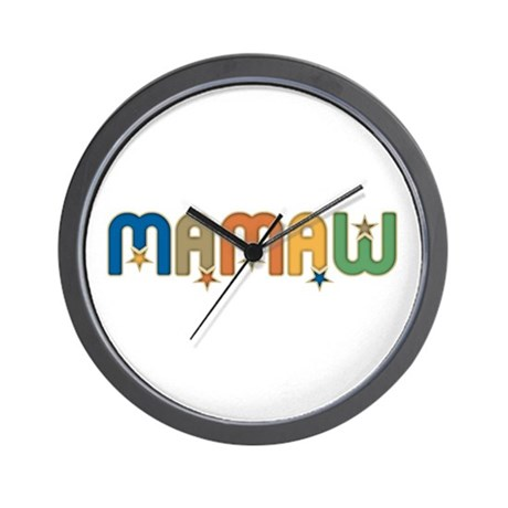 CLICK TO VIEW Mamaw Wall Clock