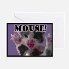 MOUSE! Greeting Card