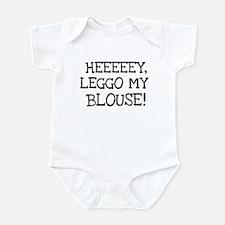 Leggo My Blouse Infant Bodysuit