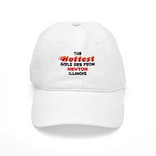 Hot Girls: Newton, IL Baseball Cap