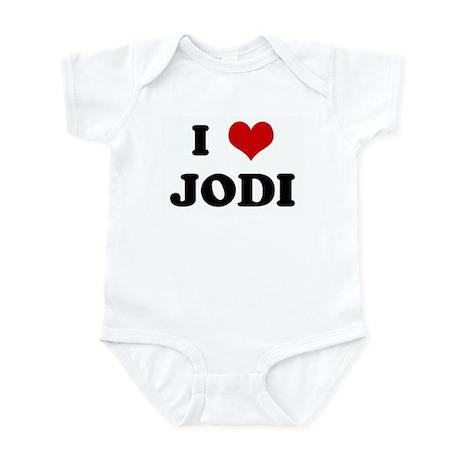 I Love JODI Infant Bodysuit