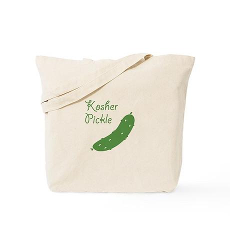 kosher pickle... Tote Bag