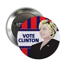 "Hillary Clinton 2.25"" Button (100 pack)"