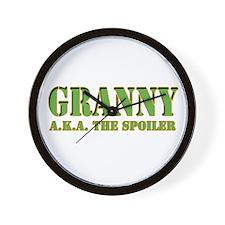 CLICK TO VIEW Granny Wall Clock