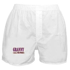 CLICK TO VIEW Granny Boxer Shorts