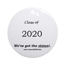 Class of 2020 Ornament (Round)