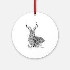 Jackalope Ornament (Round)