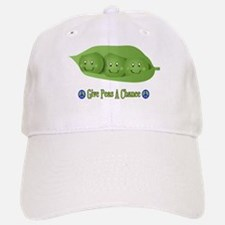 Give Peas A Chance Baseball Baseball Cap