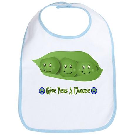 Give Peas A Chance Bib