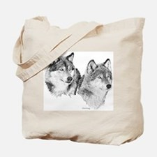 Lone Wolves Tote Bag