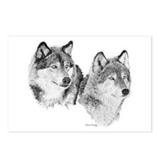 Lone Wolves Postcards (Package of 8)