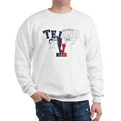 Texas Flag Steer Head Sweatshirt