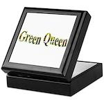 Green Queen Keepsake Box