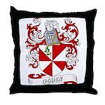Ogden Coat of Arms Throw Pillow