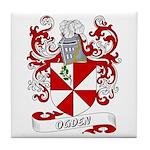 Ogden Coat of Arms Tile Coaster