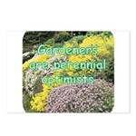 Gardeners are perennial Postcards (Package of 8)