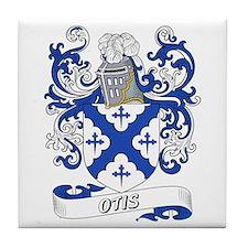 Otis Coat of Arms Tile Coaster