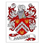 Parsons Coat of Arms Small Poster