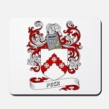 Peck Coat of Arms Mousepad