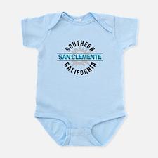 San Clemente California Infant Bodysuit