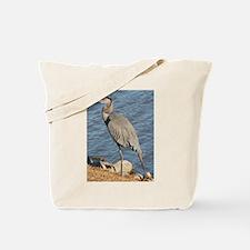Great Blue Heron Tote Bag