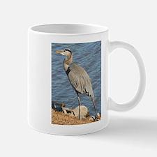Great Blue Heron Small Small Mug