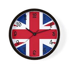 United Kingdom Flag Wall Clock