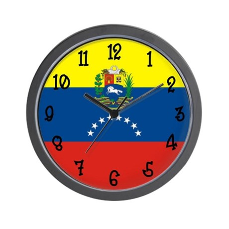 Venezuela Flag Wall Clock